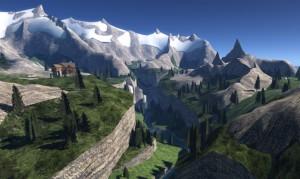 Paysage dans Les Sims 4