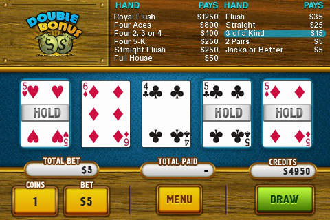 Hoyle Video Poker